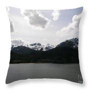 Inland Passage Throw Pillow