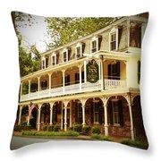 Inn At St. Peter's Throw Pillow