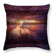 Inner Bliss Throw Pillow