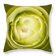 Inner Cabbage Orb Throw Pillow