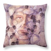 Inner Cacophany Throw Pillow