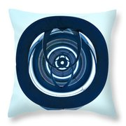 Inner Circles Throw Pillow