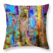 Inner Forces Throw Pillow