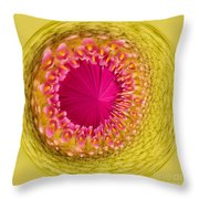Inner Gerbera Throw Pillow