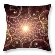 Inner Glow Throw Pillow