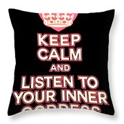 Inner Goddess Throw Pillow
