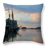 Inner Harbor610 Throw Pillow