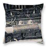 Inner Life Of An Old Car Throw Pillow