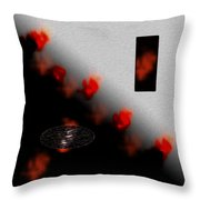 Inner Passion Digital Oil Painting Throw Pillow