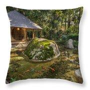 Inner Peace Throw Pillow by Mario Legaspi