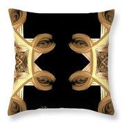 Inner Response - Stereogram Throw Pillow