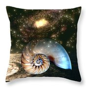 Inner Space Outer Space Throw Pillow