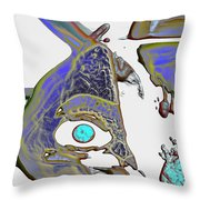 Inner Workings Trying To Understand Themselves Throw Pillow