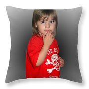 Innocent Or Guilty? Throw Pillow