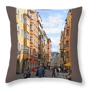 Innsbruck Color Throw Pillow