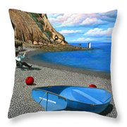 Inquiries Throw Pillow