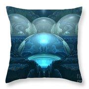 Inside A Blue Moon Throw Pillow