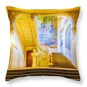 Inside Capitole De Toulouse Throw Pillow