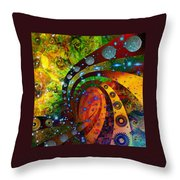 Inside Consciousness  Throw Pillow