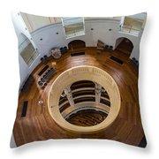 Inside Frauenkirche Dome Throw Pillow