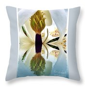 Inside Magnolia Reflect  Throw Pillow