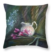 Inside Or Outside Throw Pillow