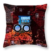 Inside Out Throw Pillow