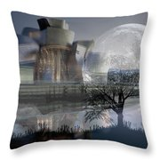 Inside Out Painting Throw Pillow