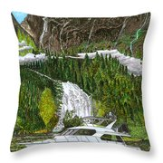 Inside Passage Time Out Throw Pillow