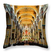 Inside Santo Domingo Throw Pillow