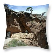 Inside The Grand Canyon Throw Pillow