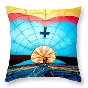 Inside The Heavens Throw Pillow