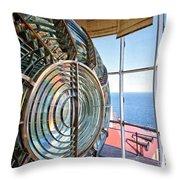 Inside The Lighthouse Throw Pillow