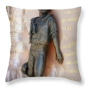 Inside The Man Throw Pillow