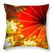 Inside The Phonograph Throw Pillow