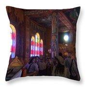Inside The Sanctuary Throw Pillow