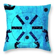 Inside The Wheel Of Fortune 2011 Throw Pillow