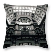 Inside Union Station Throw Pillow