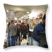 Inside World Famous Pawn Shop Throw Pillow