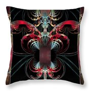 Inside Your Beautiful Heart Throw Pillow