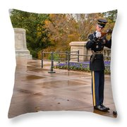 Inspection Throw Pillow