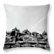 Inspiration At Borobudur Throw Pillow