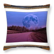 Inspiration In The Night Throw Pillow