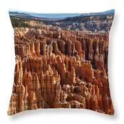 Inspiration Point Bryce Canyon Throw Pillow