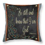 Inspirational Chalkboard-b2 Throw Pillow