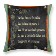 Inspirational Chalkboard-d2 Throw Pillow