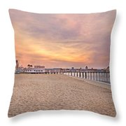 Inspirational Theater Old Orchard Beach  Throw Pillow