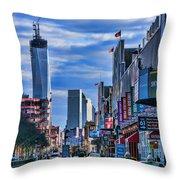 Inspiring Chelsea Throw Pillow