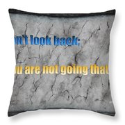Inspiring Words For You Throw Pillow