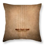 Instrument - String - I Love Banjo's Throw Pillow